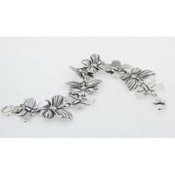 Pulsera La Perionda plata 925 mariposa - REF. 1092