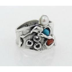 Anillo La Perionda plata 925 talla 16 - REF. 0789