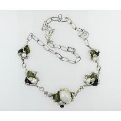 Collar La Perionda plata 925 y piedras naturales - REF. 0794