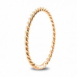 Anillo ARGYOR oro rosa 750 talla 12 - REF. 5R16518/12