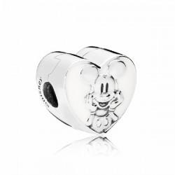 Abalorio Clip Pandora plata 925 Colección Disney - REF. 797169EN12