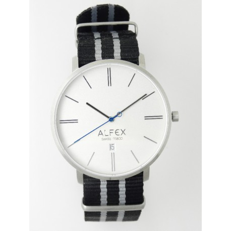097ffe95c752 Reloj Alfex Round Clock City - REF. 5727 2012 - Joyería Manjón