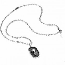 Collar Police Tombstone de acero - REF. S14AFP01P